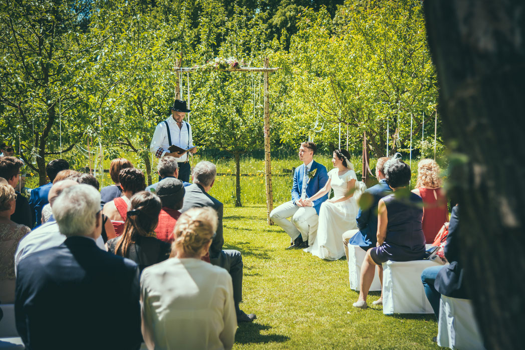Hochzeit im Frühling