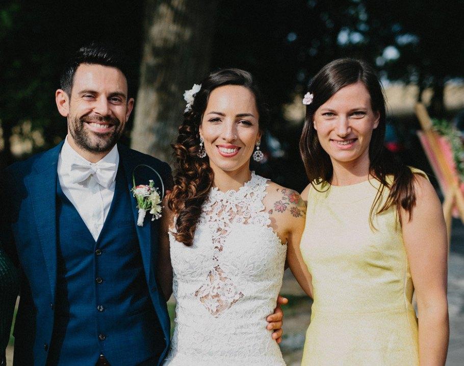 Deutsch-Brasilianische Hochzeit mit Strauß & Fliege